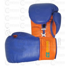 Lace Up Pro Fight Boxing Gloves