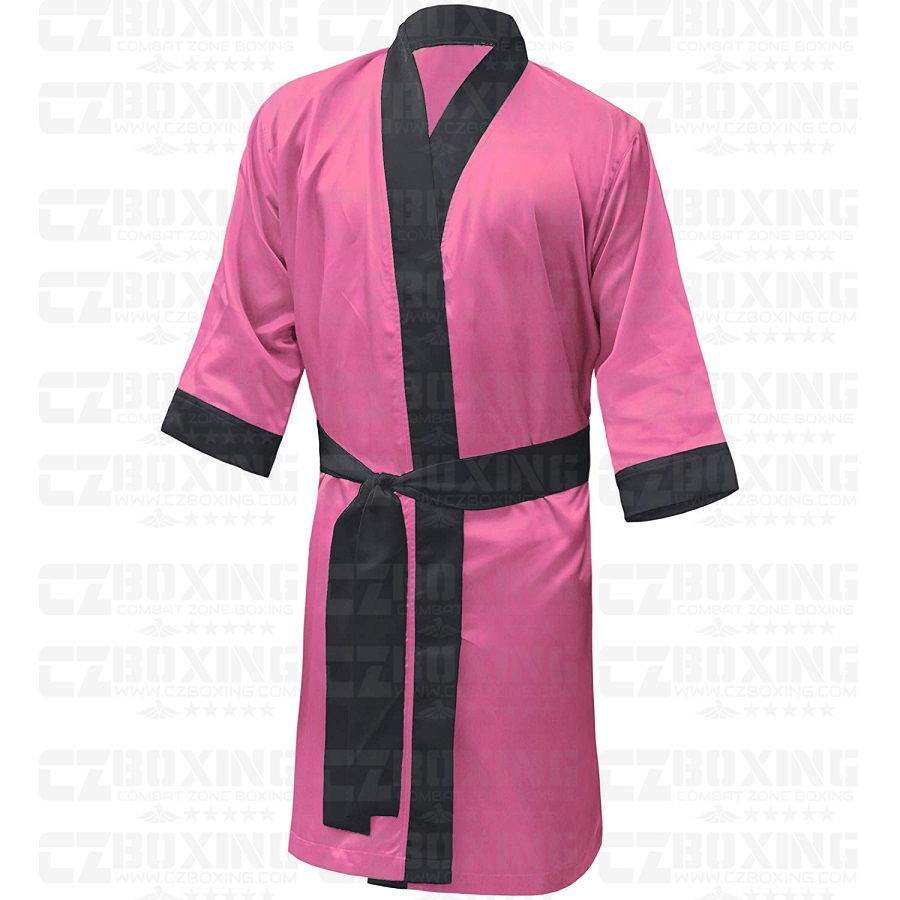 Personalised Boxing Robes: Custom Ladies Boxing Gown Suppliers, Womens Pink Boxing