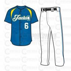 Fancy Baseball Uniform