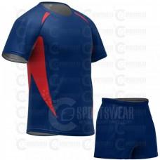 Blue Rugby Uniform